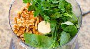 Walnoot Pesto Kalkoen Burger – 262 Calorieën