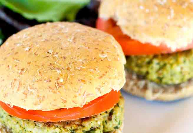 Walnoot Pesto Kalkoen Burger 262 calorieën