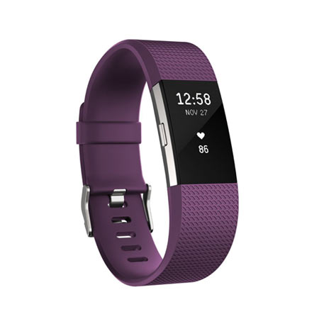Fitbit Charge 2 activity tracker - Paars - large