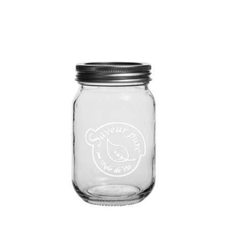 Mason Jar 500ml Saveur Pure