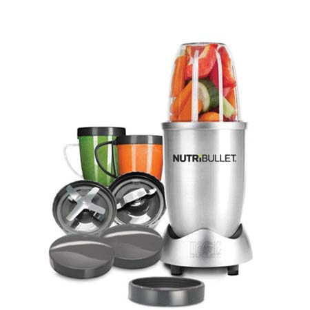 NutriBullet - 12 delig- Zilver- Limited Edition.