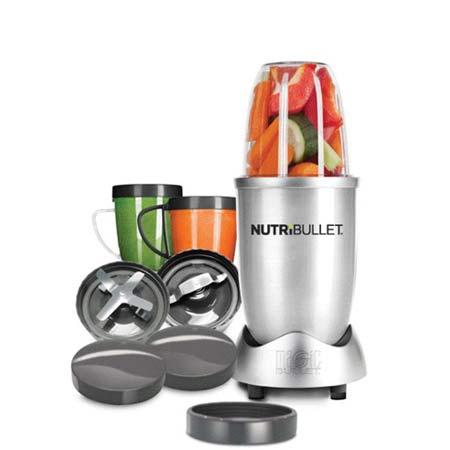 NutriBullet - 12 delig- Zilver- Limited Edition.