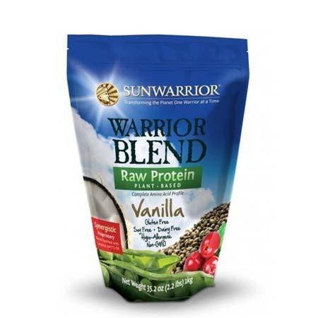 SunWarrior Vanille Proteine en Eiwit Poeder - 1 kilo - Drinkmaaltijd