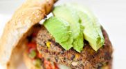 Vegetarische Bruine Bonen Hamburger