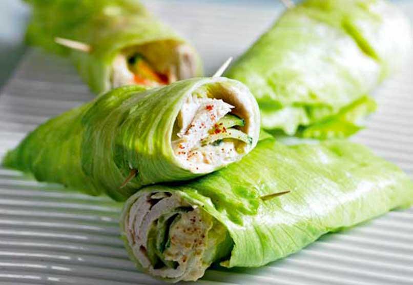 52 dieet recepten sla wraps