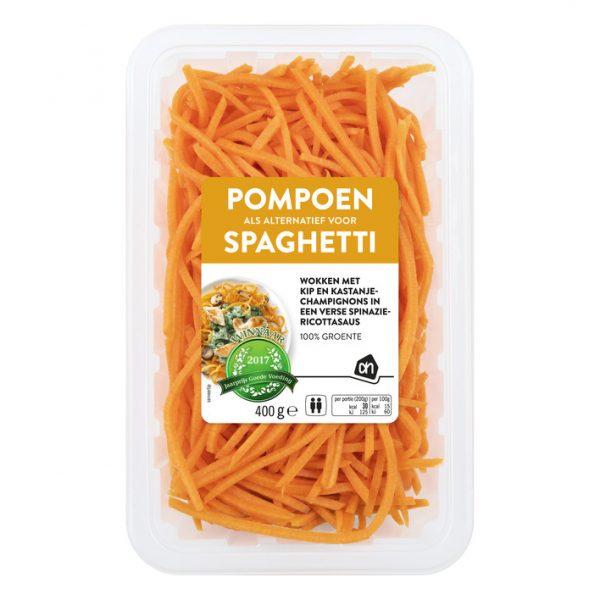pompoen spaghetti recept ah