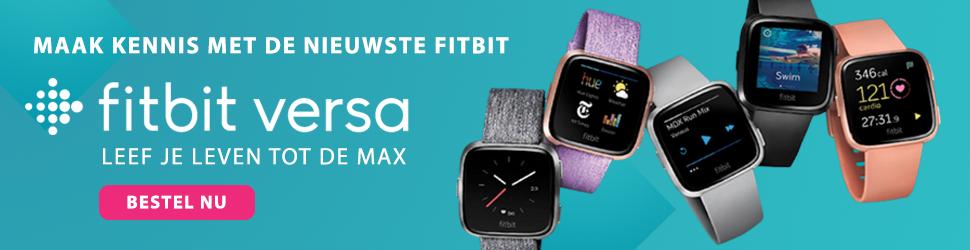 Fitbit Versa Smartwatch - Leef je leven tot de max