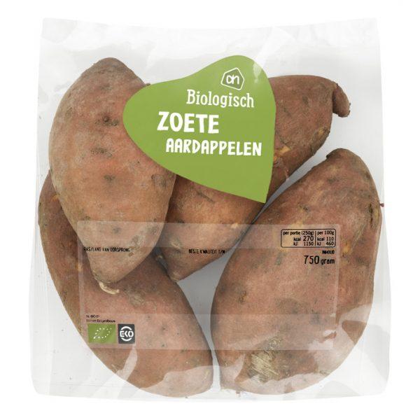 Biologisch Zoete aardappelen ah